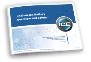 Lithium-ion batterij ICE RS28-CY-L opzit-schrobzuigmachine i-Synergy