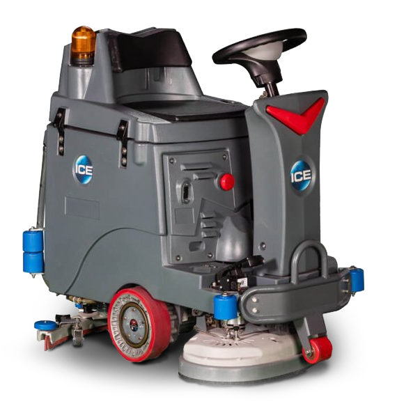 ICE RS24 opzit-schrobzuigmachine